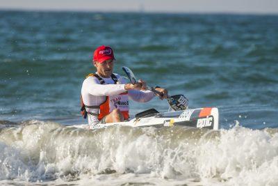 King of Surfski wins FNB Downwind