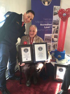 90-year-old blood donation hero has donated 413 lifesaving pints