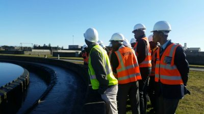 Learners from poorly resourced schools participate in engineering job shadowing programme