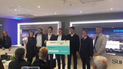 Samsung Mixed Talents Competition Winners Beat the Dragon's Den