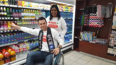 Wheelchair Wednesday opens Mr South Africa's eyes