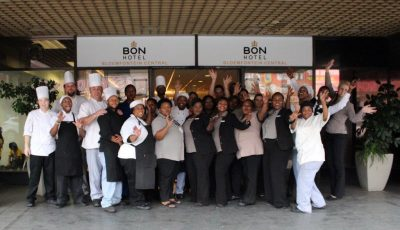 SHARING IS CARING – BON Hotel Bloemfontein Central initiates staff share trust fund