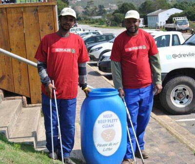 SPAR boost Keep Plett Clean campaign