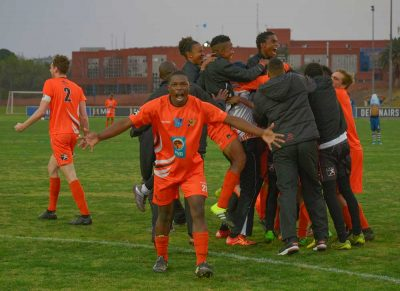 No fear for UJ in Varsity Football final