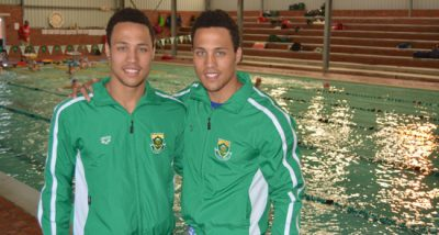 Basson swimming twins target Worlds