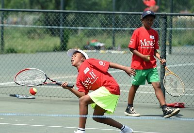 The National sporting event GASP (Get Ahead Sports Programme) bring tennis to Soweto