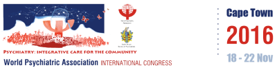 World Psychiatric Association's International Congress in Cape Town – 18-22 November 2016: Setting a new course for Psychiatry in the community
