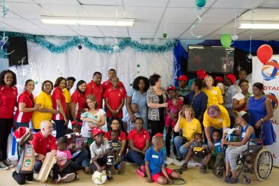 Total South Africa put smiles on vulnerable children this festive season!