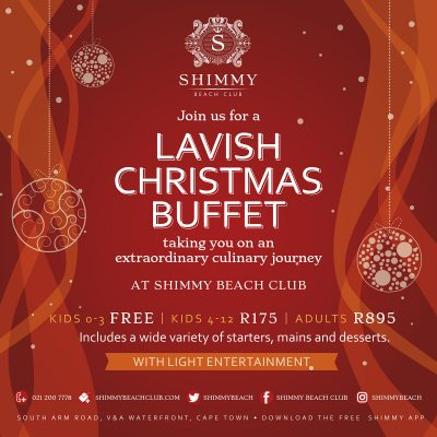 A very Merry Christmas lunch with Shimmy Beach Club