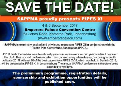 PPCA Confirms spin-off conference and exhibition to take place in South Africa later this year