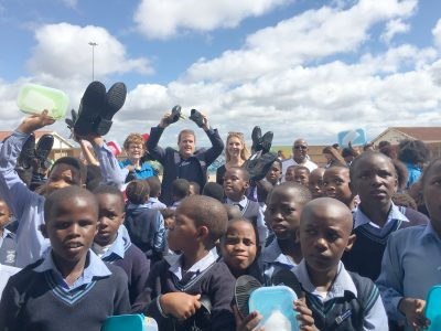 National school shoe campaign rolls out in Port Elizabeth