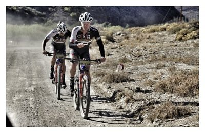 Heat tests riders on TransCape queen stage