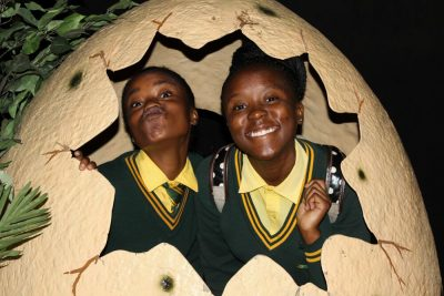 Dinosaurs come alive for Pretoria pupils