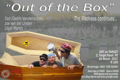 Out the Box concert with Cedric Vandenschrik