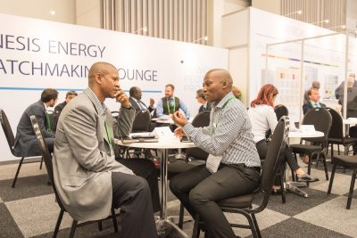 EU support for businesses networking through Business Beyond Borders at African Utility Week