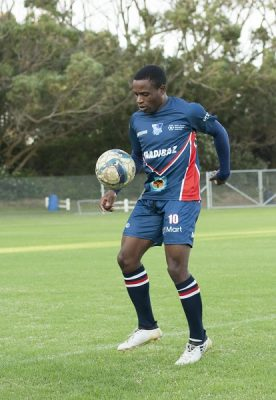 Madibaz striker shines on and off the field