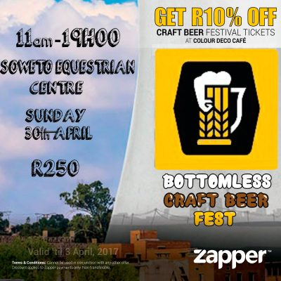 Craft Beer Galore in Soweto at the Bottomless Craft Beer Festival!