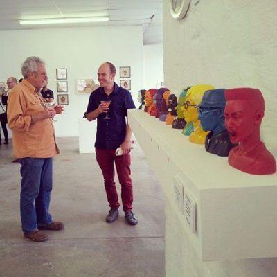 Hubert Barichievy's Great Pop Bust Exhibition – 4 May 2017 @ 91 Loop Street