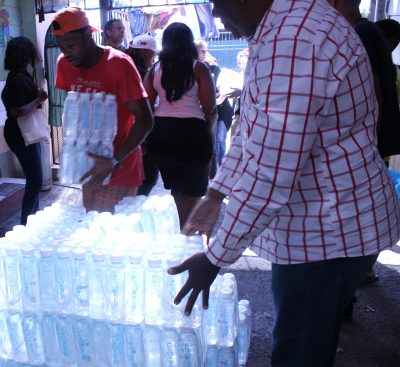 Mercedes-Benz Fashion Week Cape Town finds good homes for water donations