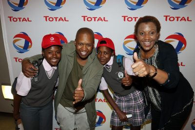 Total South Africa brings the best of French Arts and Culture to disadvantaged Soweto children