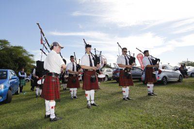 """Largest Single Gathering of Pipe Bands"" in Amanzimtoti's Highland Gathering and Lifestyle Expo"