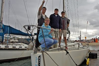 The Ocean Comrades Race – 4 Men in a Little Yacht