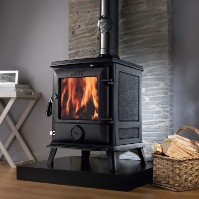 Lounge at Home this Winter with an AGA Ludlow Fireplace