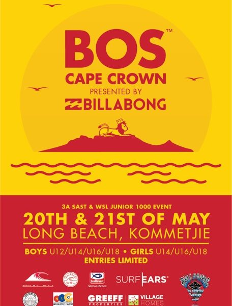 Surfing: BOS Cape Crown presented by Billabong returns to Cape Town.