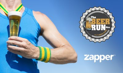 Top Up Your Cup with Zapper at The Beer Run Festival