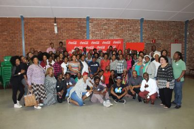 Coca- Cola Beverages South Africa trains Kimberley Informal traders