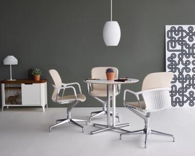 Introducing the Keyn Chair by Herman Miller, a multipurpose chair for seating