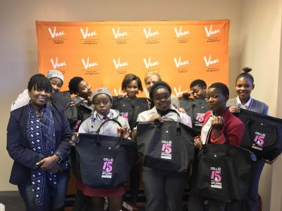 Vuma Reputation Management Celebrates 15 years of  Cell C Take a Girl Child to Work Day®