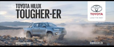 Toyota Hilux Parks Itself In The Premium Space With Kipling-Inspired Commercial