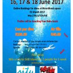 Wildside Dive Festival at Noordhoek Ski Boat Club Port Elizabeth 16 to 18 June 2017