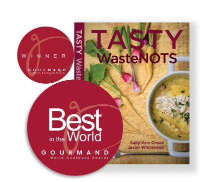 'Tasty WasteNOTS' Cookbook Voted Best in the World