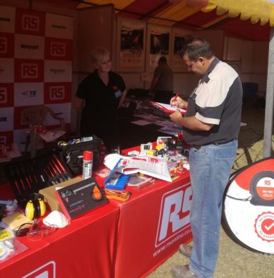 RS Components offers a comprehensive range of plant maintenance solutions at the Mining & Technical Exhibition Kathu 2017