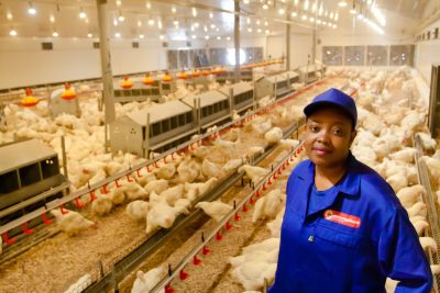 Farm manager's attitude and career success an inspiration to South African youth