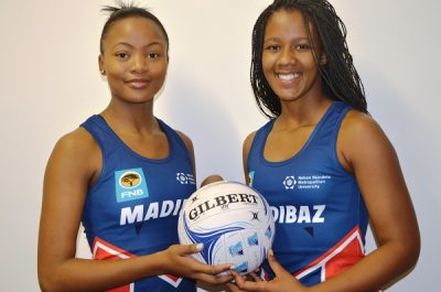 Two Madibaz netballers off to Worlds