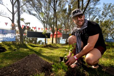 150 Trees planted at Wild Coast Music Fest