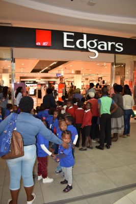 Edgars helps little ones brave the winter