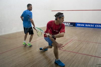Wheadon and Goosen add to tally of squash titles