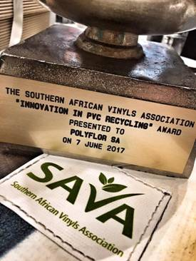 Polyflor SA wins Innovation in Recycling Award