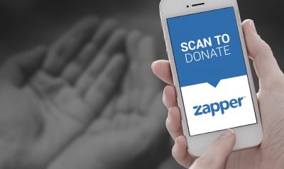 Zapper for Donations Makes Giving to Charity Easier