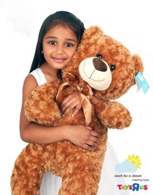 Toys R Us introduces charitable teddy bears in partnership with Reach For A Dream