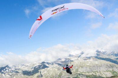 Race leaders break the 400km mark in Red Bull X-Alps 2017