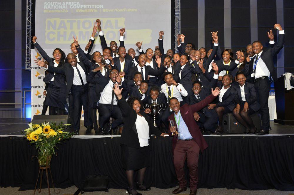 Enactus South Africa 2017 National Champions