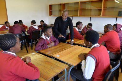 Kagiso school ups results with Columba programme