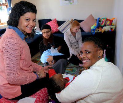 Abandoned babies shown love on Mandela Day