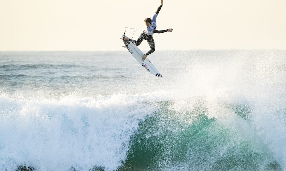 Ballito Pro presented by Billabong: Mikey February and Jordy Smith In Quarterfinals
