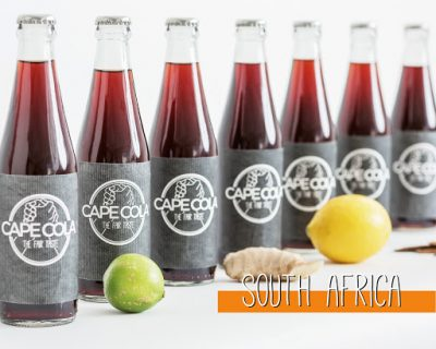 Cola Gets Cooler: Cape Cola Healthy and Refreshing
